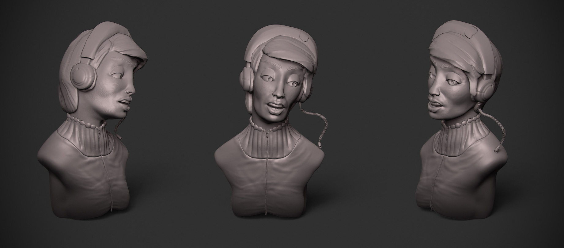 zbrush bust